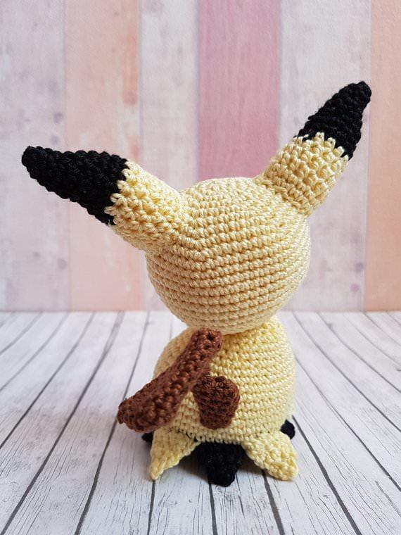 Kleinesbild - Gehäkeltes Amigurumi inspiriert von Mimigma gefertigt aus Baumwolle