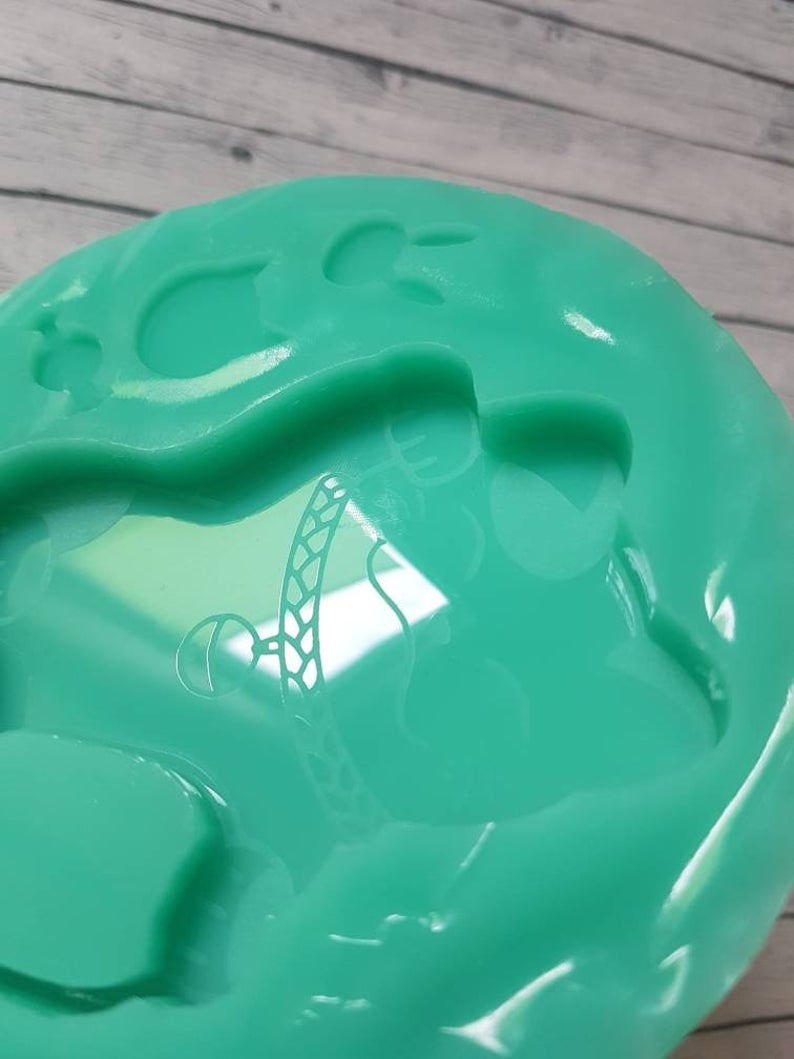 Kleinesbild - Resin Silikonform Glückskatze Shaker Winkekatze Japan