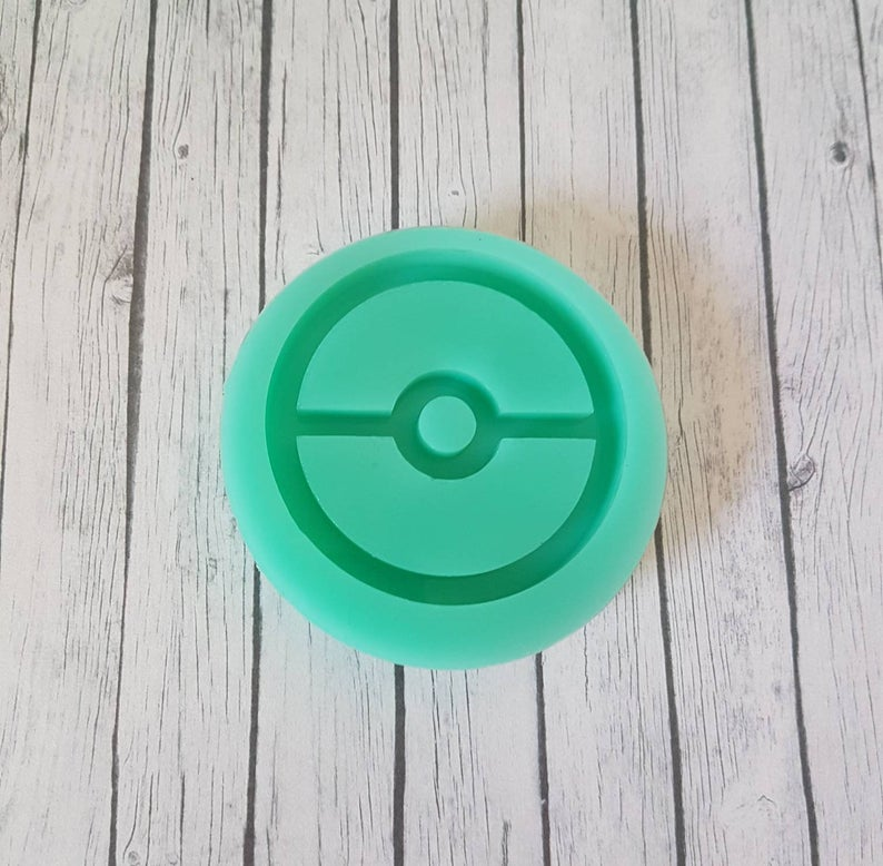 - Resin Silikonform Pokeball Shaker Pokemon - Resin Silikonform Pokeball Shaker Pokemon