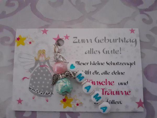 - -Schutzgengel Perlenengel als kleines,aber feines Geburtstaggeschenk- Personalisiert für die MAMA- - -Schutzgengel Perlenengel als kleines,aber feines Geburtstaggeschenk- Personalisiert für die MAMA-