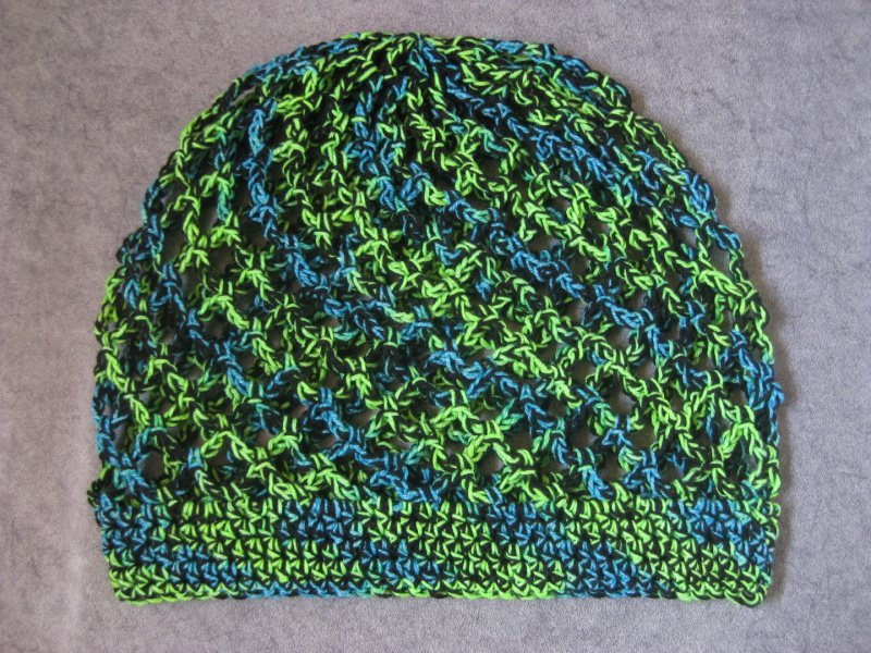 Kleinesbild - Mütze, Beanie, Sommer-Mütze mit tollen Farbeffekten