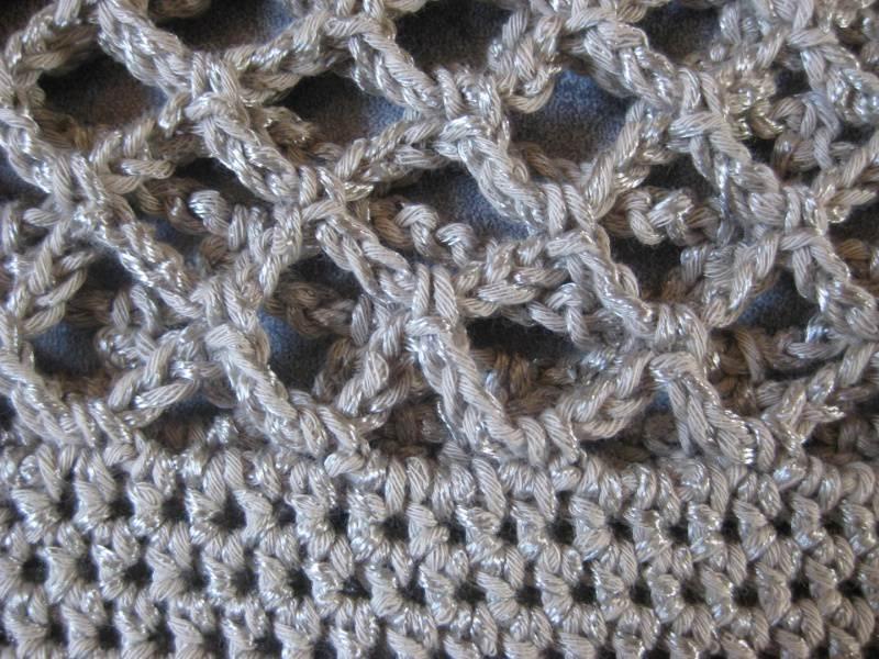 Kleinesbild - Mütze, beige-grau glänzend, Sommermütze, Beanie