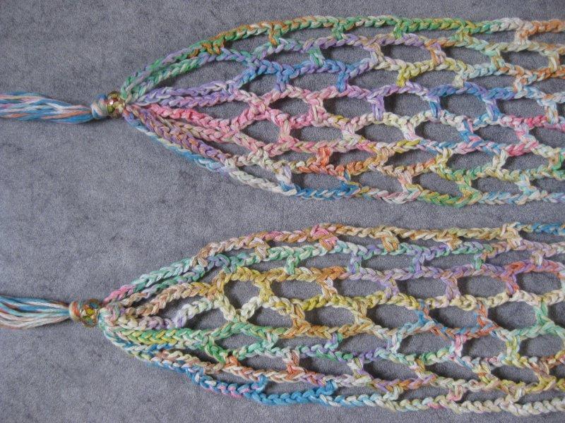 Kleinesbild - Schmuckschal, Schal mit Baumwolle, auf verschiedene Arten tragbar