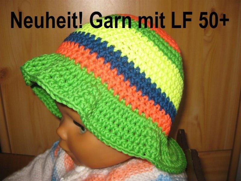 - Babymütze mit Sonnenschutz, Sonnenhut, bunt - Babymütze mit Sonnenschutz, Sonnenhut, bunt