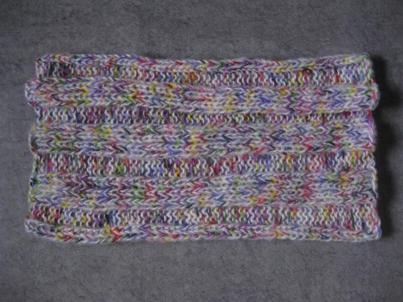 Kleinesbild - Schlauchschal mit Mohair, Schal, Loop, gestrickt