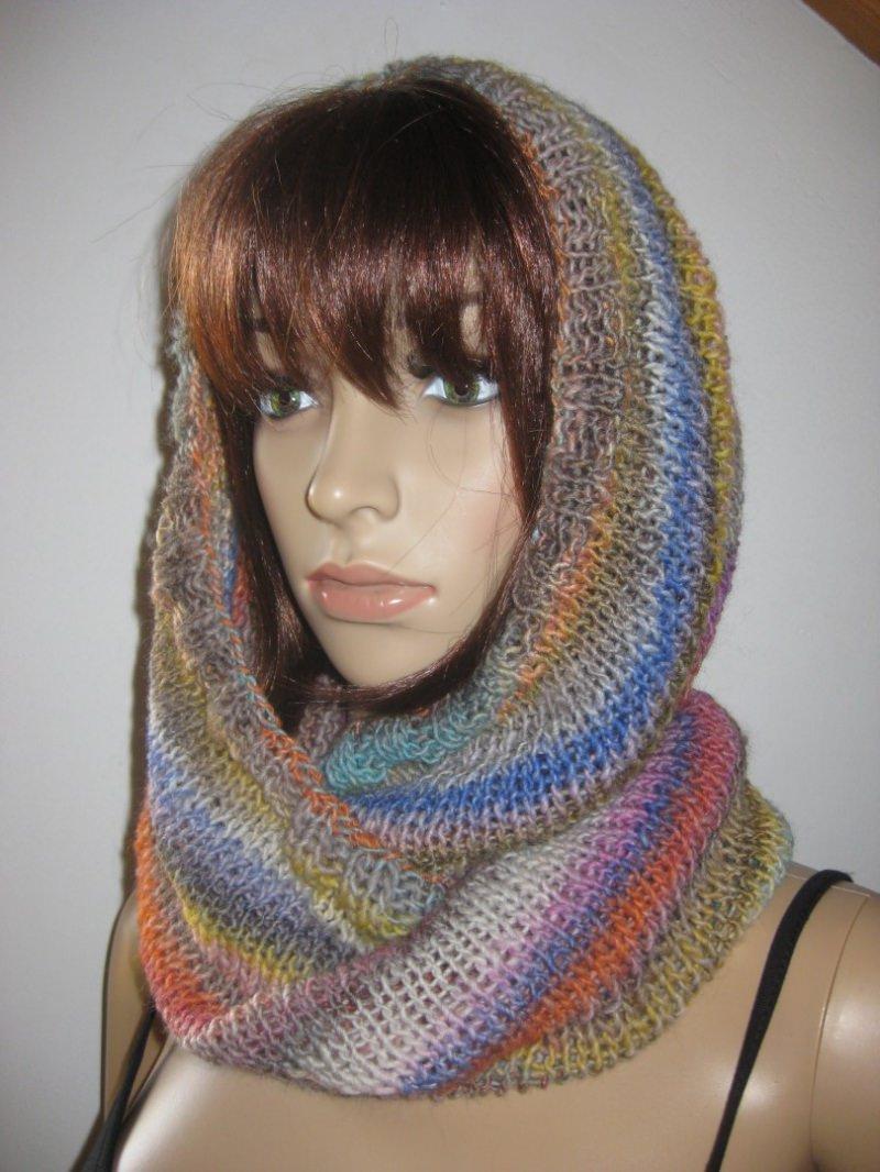 Kleinesbild - Schlauchschal, Schal, Loop, gestrickt, in tollen Farben