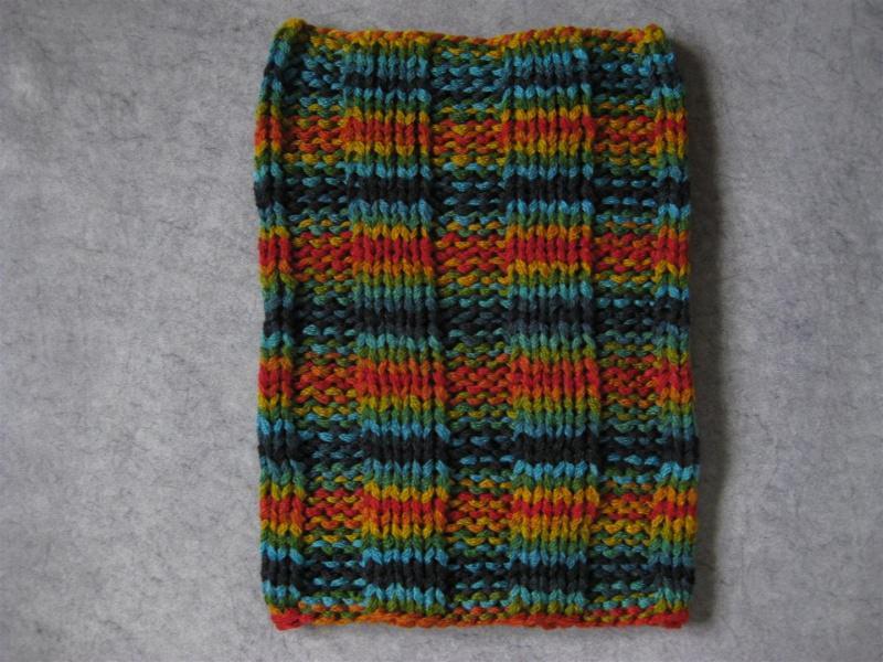 Kleinesbild - Schlauchschal, Schal, Loop, gestrickt in schönen bunten Farben