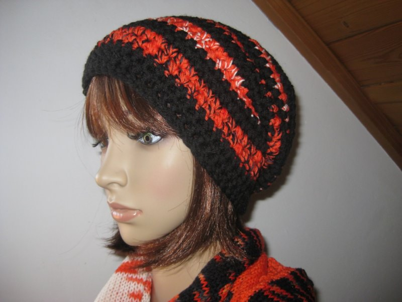 - Mütze, Beanie im Boshi Style, Häkelmütze - Mütze, Beanie im Boshi Style, Häkelmütze