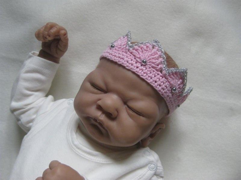 Kleinesbild - Baby-Haarband, Baby-Krone, Baby-Fotografie