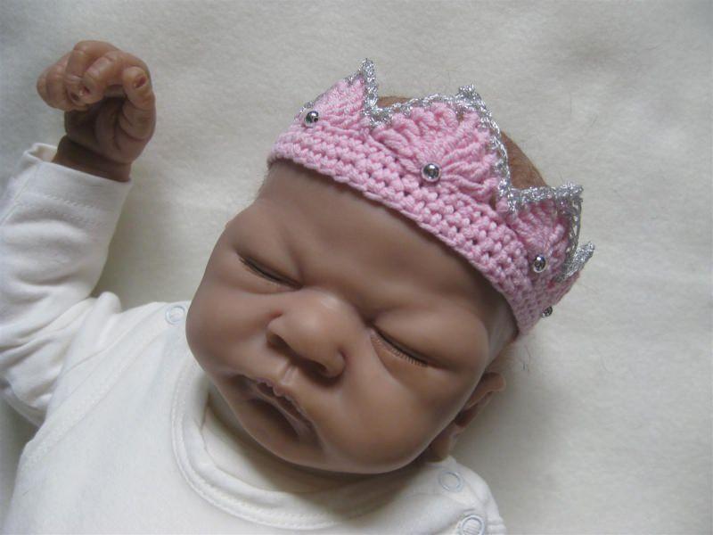 - Baby-Haarband, Baby-Krone, Baby-Fotografie - Baby-Haarband, Baby-Krone, Baby-Fotografie