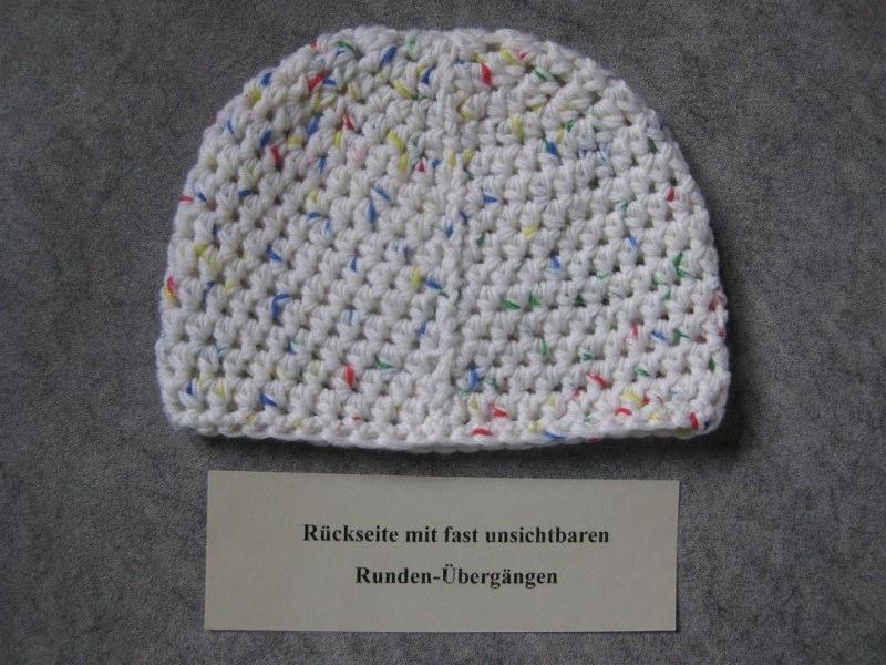Kleinesbild - Babymütze, Neugeborenenmütze, Wintermütze aus weicher Wolle