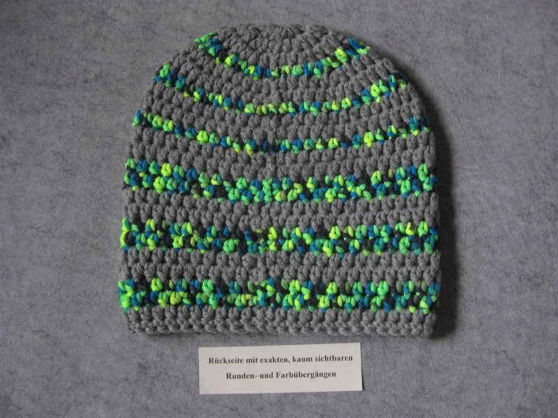 Kleinesbild - Mütze, Beanie im Boshi Style, Häkelmütze