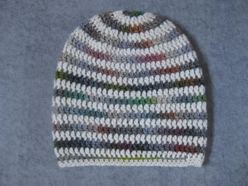 Kleinesbild - Mütze, Beanie im Spiral-Design, Häkelmütze, Boshi Style