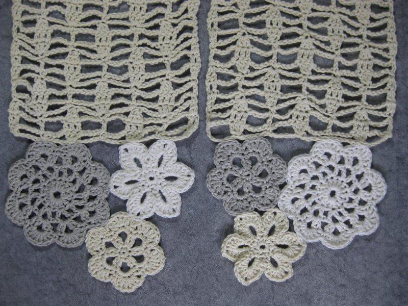Kleinesbild - Schmuckschal, Häkelschal aus Kaschmir und Baumwolle