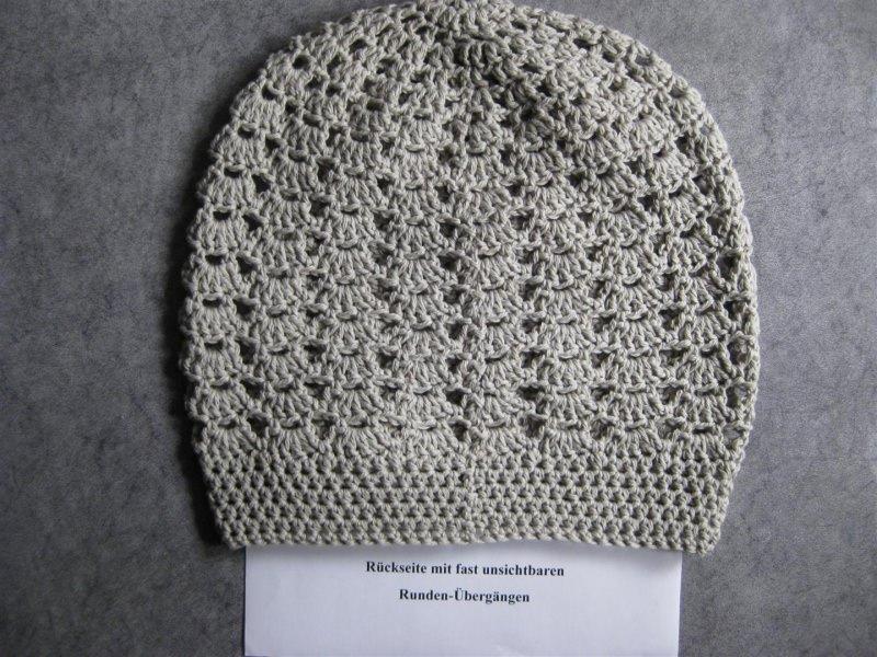Kleinesbild - Mütze, Beanie, Sommer-Mütze aus Kaschmir und Baumwolle