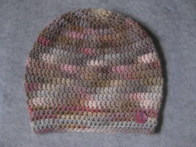 Kleinesbild - Mütze, Beanie, Häkelmütze mit Farbverlauf