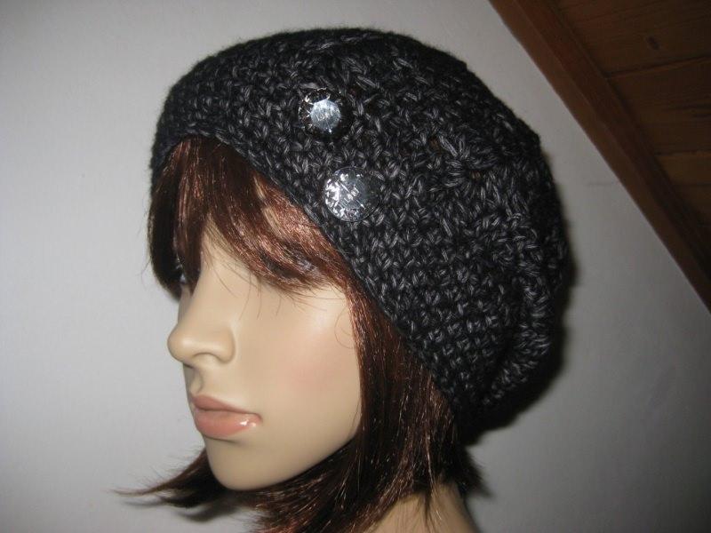 - Mütze, kuschelweiche Wolle mit hübschem Muster, Beanie, Häkelmütze - Mütze, kuschelweiche Wolle mit hübschem Muster, Beanie, Häkelmütze