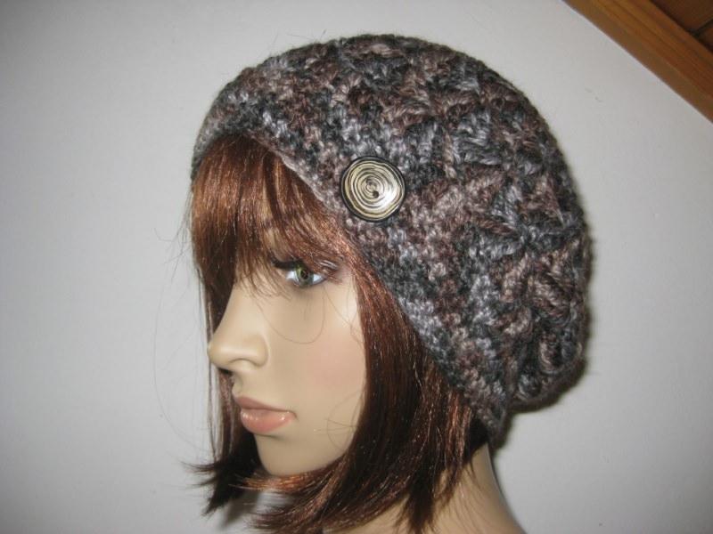 - Mütze mit Alpaka, Mohair und Seide, Beanie, Häkelmütze - Mütze mit Alpaka, Mohair und Seide, Beanie, Häkelmütze
