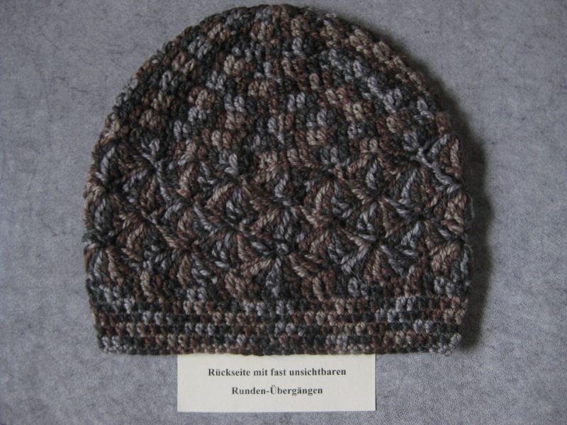 Kleinesbild - Mütze mit Alpaka, Mohair und Seide, Beanie, Häkelmütze