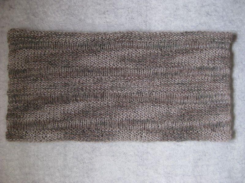 Kleinesbild - Schlauchschal mit Mohair und Seide, Schal, Loop, gestrickt