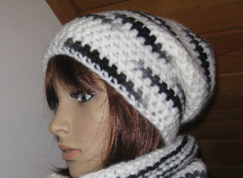 - Mütze, Beanie im Boshi Style aus kuschelweicher Wolle, Häkelmütze - Mütze, Beanie im Boshi Style aus kuschelweicher Wolle, Häkelmütze