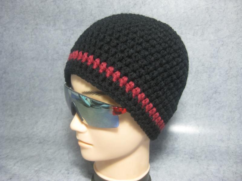 - Kurze Mütze, Beanie im Boshi Style, Häkelmütze, Männer-Mütze - Kurze Mütze, Beanie im Boshi Style, Häkelmütze, Männer-Mütze