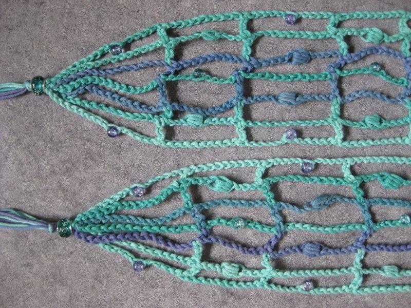 Kleinesbild - Schmuckschal, Schal aus Viskose und Baumwolle, auf viele Arten tragbar