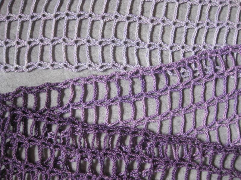 Kleinesbild - Schal, Stola, Schmuckschal mit schönem Farbverlauf