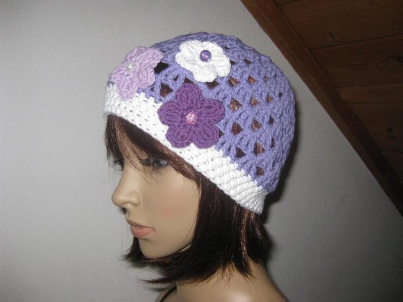 Kleinesbild - Mütze, luftige Sommer-Mütze aus elastischer Baumwolle