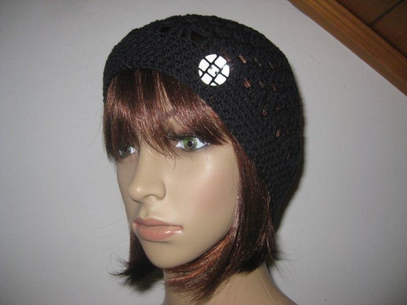 Kleinesbild - Mütze, luftige Sommer-Mütze aus dünner elastischer Baumwolle