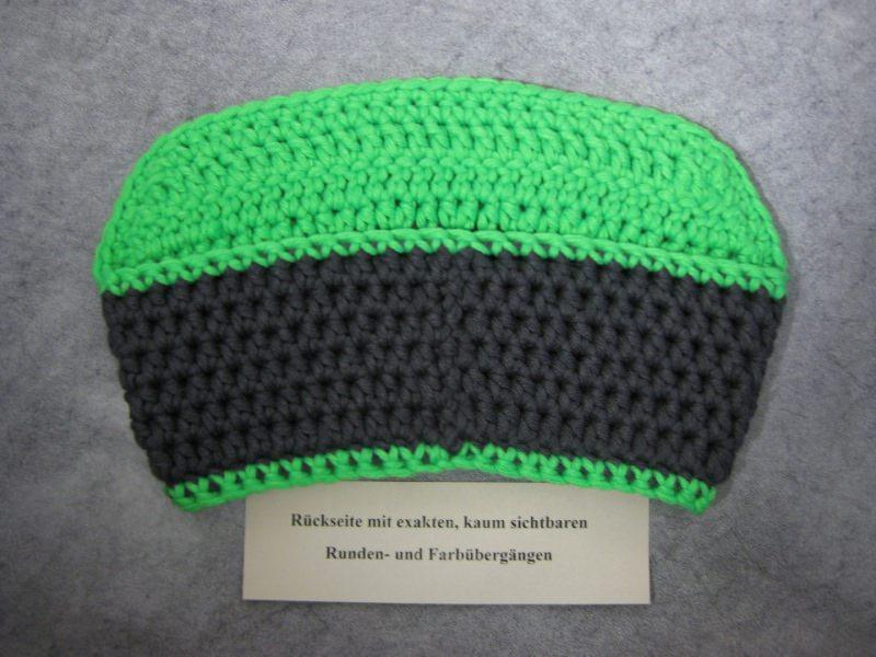 Kleinesbild - Stirnband mit Schild, Ohrwärmer aus dicker Wolle