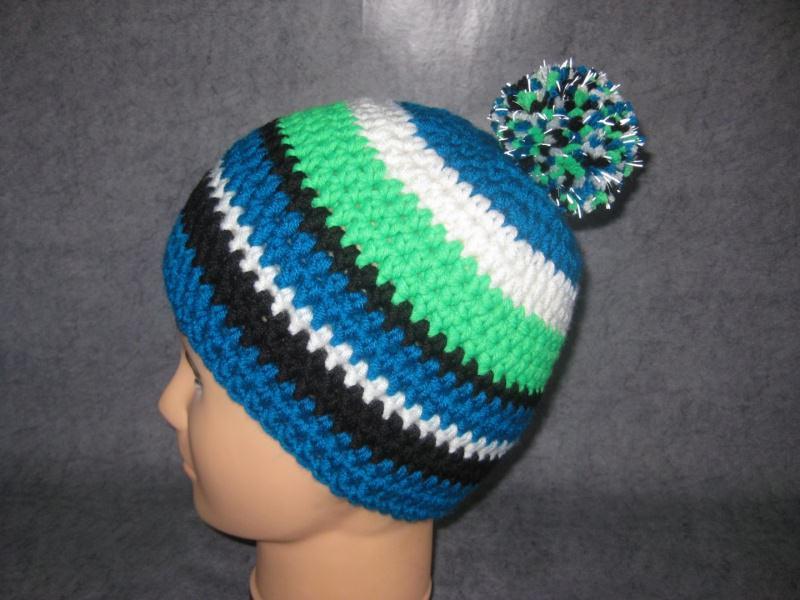 Kopfbedeckung Mütze Mit Reflektierender Leuchtbommel Größe M