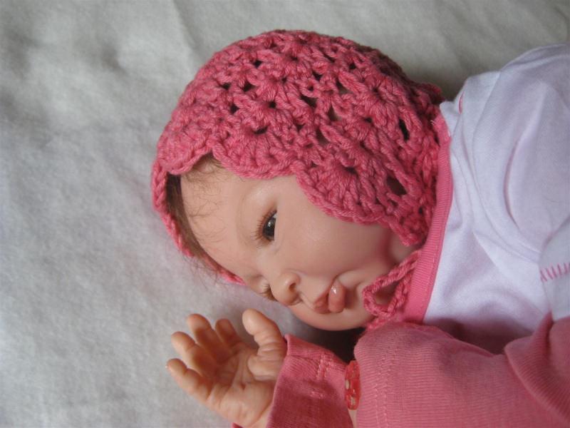Babyartikel Babymütze Neugeborenenmütze Taufmütze Sommermütze