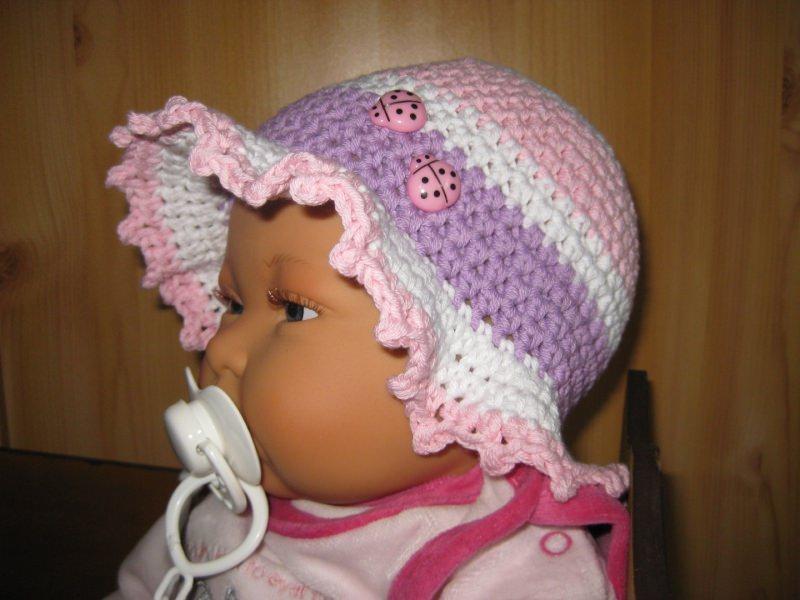 - Babymütze, Sonnenhut, aus Baumwolle und Kapok - Babymütze, Sonnenhut, aus Baumwolle und Kapok