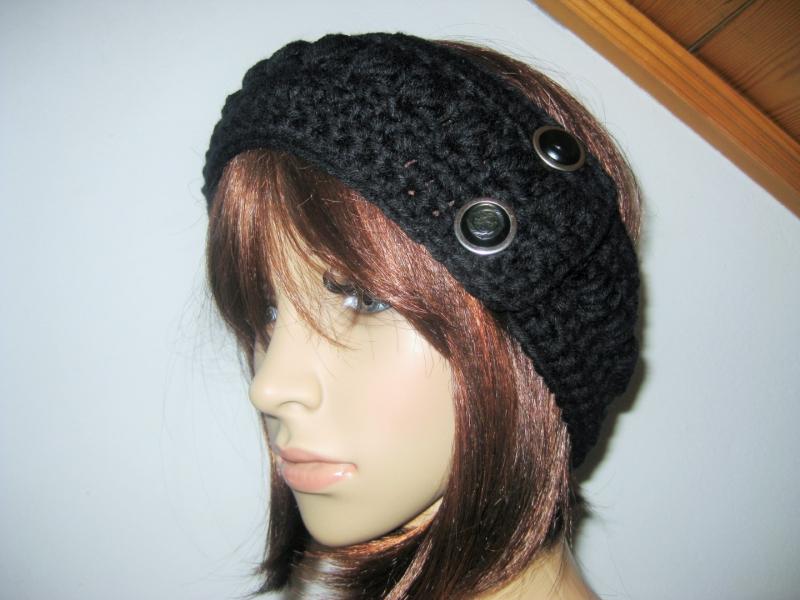 Kleinesbild - Stirnband, größenverstellbar, Ohrwärmer, Haarband
