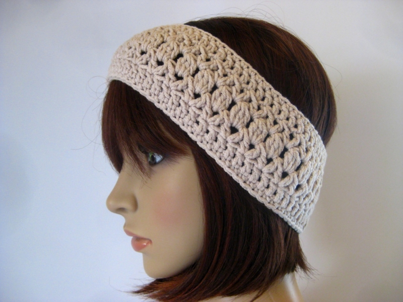 - Stirnband aus elastischer Baumwolle, Haarband - Stirnband aus elastischer Baumwolle, Haarband
