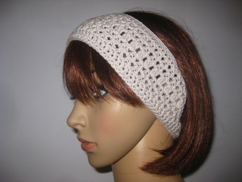 Kleinesbild - Stirnband aus elastischer Baumwolle, Haarband