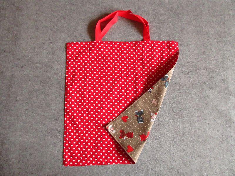 Kleinesbild - Einkaufstasche, Einkaufbeutel, Baumwolltasche, Beutel, Tasche, Katzen