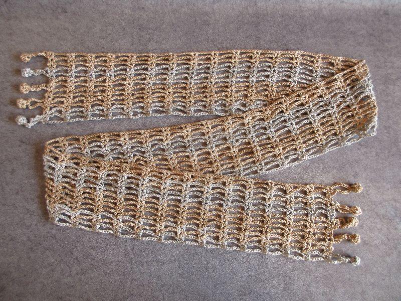 Kleinesbild - Schmuckschal, Schal, auf viele Arten tragbar