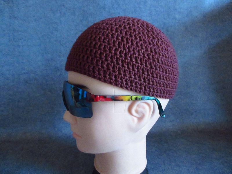 Kleinesbild - Männermütze extrakurz (ohrfrei) Gr. L/XL, Mütze, aus Baumwolle mit Elasthan