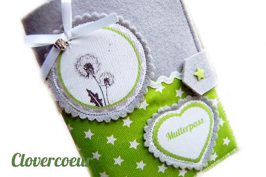 - Mutterpasshülle Herz Mutterpass Hülle Mutterkindpass Pusteblume Blume - Mutterpasshülle Herz Mutterpass Hülle Mutterkindpass Pusteblume Blume