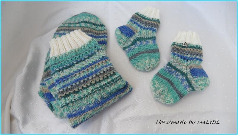 Mama Und Babysocken Bunt Gestrickte Socken Für Mutter Und Kind Babysocken Super Als Geschenk Zur Geburt Babyparty Taufe 1360