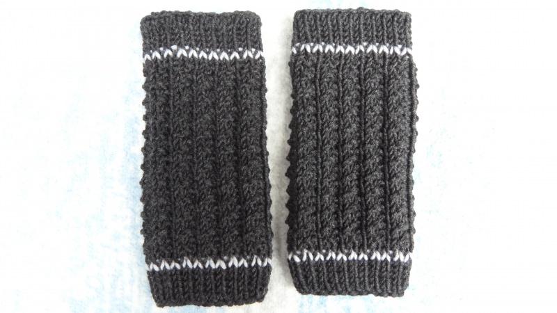 Kleinesbild - Baby-Strickstulpen, Beinstulpen, Babystulpen aus Wolle (Merino)