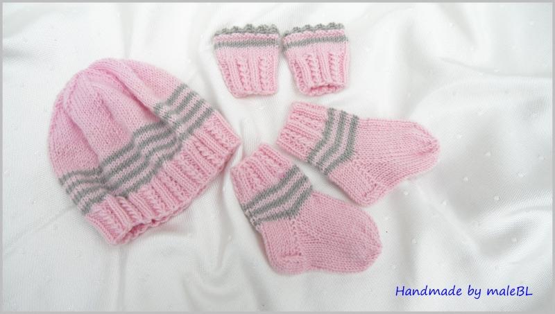 - Frühchenset, Babymütze, Socken, Pulswärmer Geschenk für Frühchen - Frühchenset, Babymütze, Socken, Pulswärmer Geschenk für Frühchen