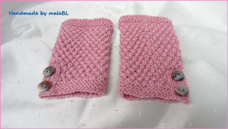 Kleinesbild - Strickstulpen,  Beinstulpen, Baby-Stulpen aus Wolle (Merino)