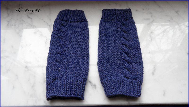 Kleinesbild - Kinderstulpen, Beinstulpen, handgestrickt, passend für 2-3 Jahre