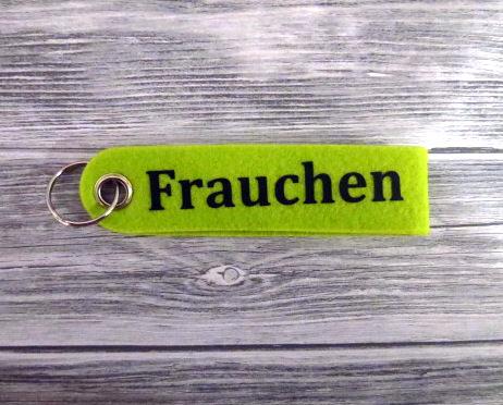 Kleinesbild - Schlüsselanhänger Herrchen Frauchen Hund grün