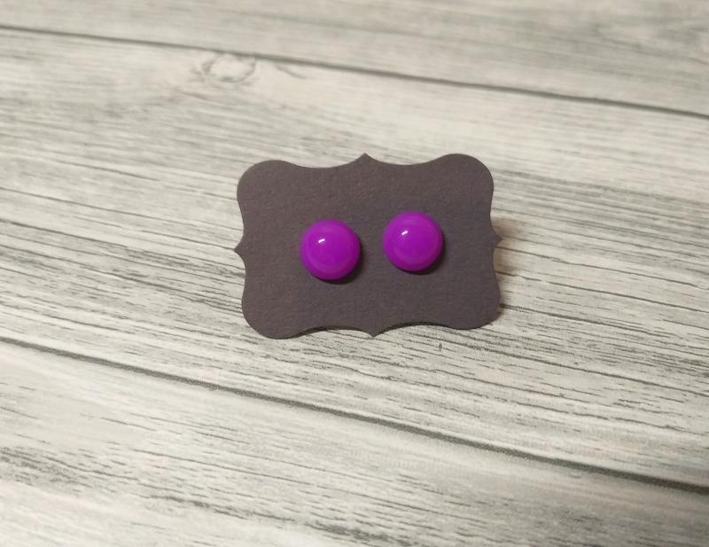 - Kleine knallige Ohrstecker Ohrringe   - Kleine knallige Ohrstecker Ohrringe