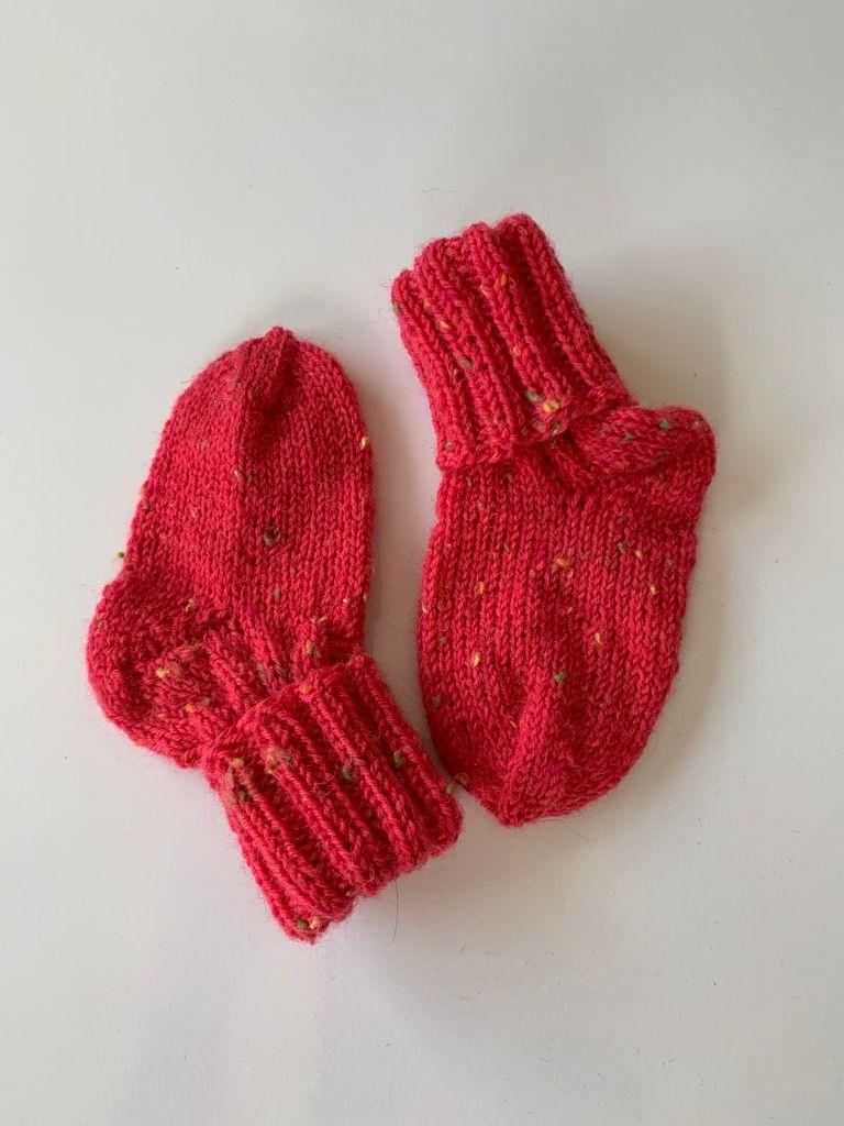 Kleinesbild - Babysocken - Pink Tweed [156]