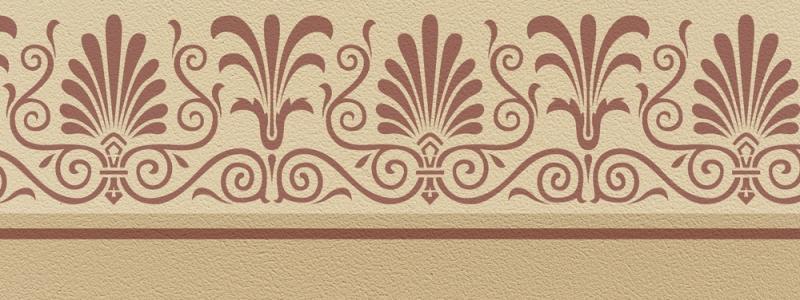 - Schablone Bordüre 1, 40 x 15 cm - Schablone Bordüre 1, 40 x 15 cm